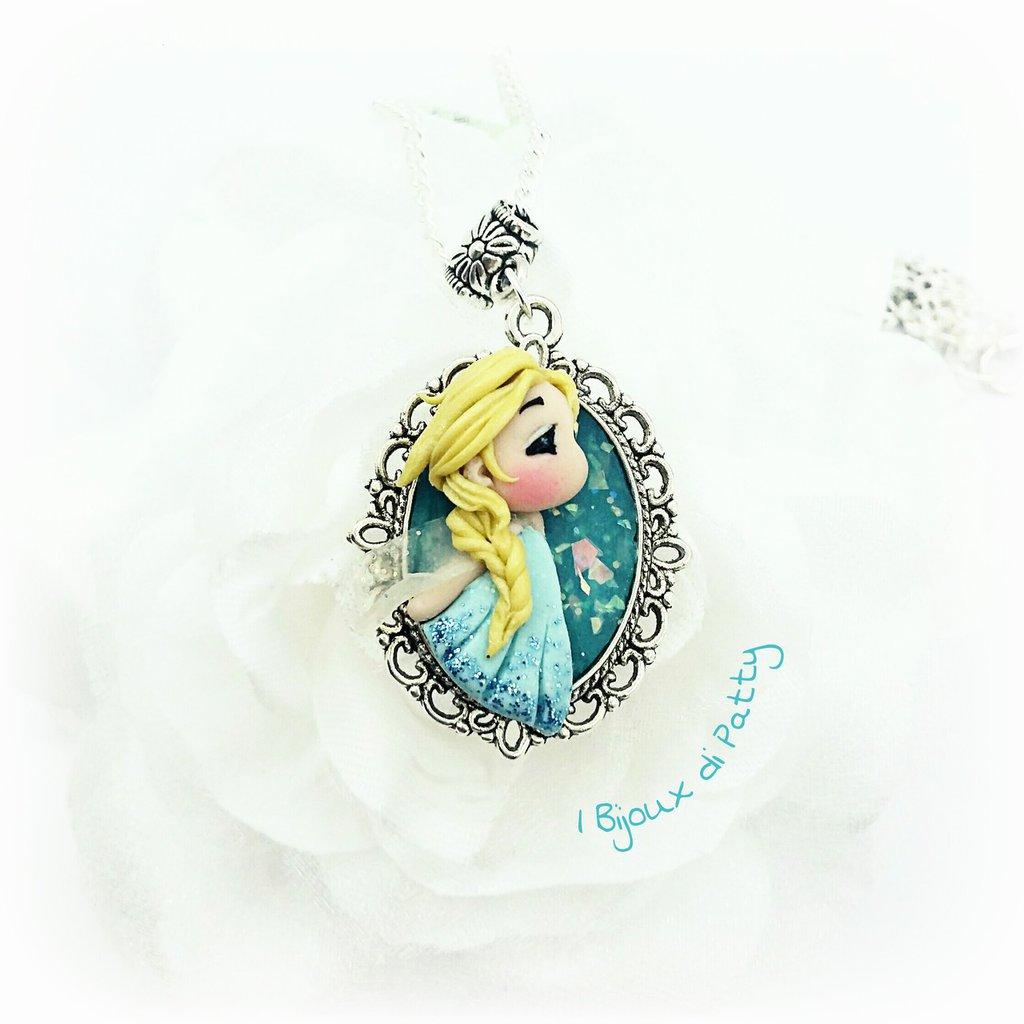 "Collana con cammeo ""Elsa"""
