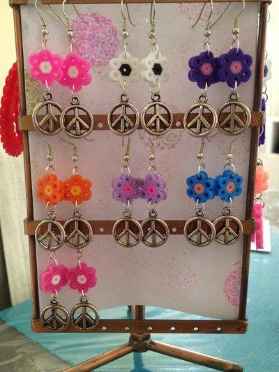 Orecchini pendenti coloratissimi
