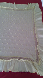 copertina culla maglia lana o cotone