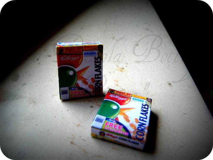 Miniature - Scatola CornFlakes