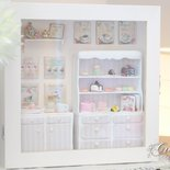 Vetrinetta con bakery in miniatura - Roombox miniature