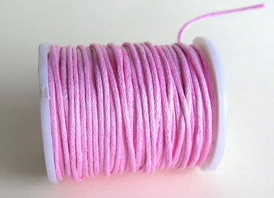 4 metri cordino cerato rosa FCO 28
