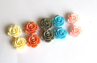 10 Cabochon in resina MIX PRL34