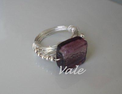 anello pietra rosa