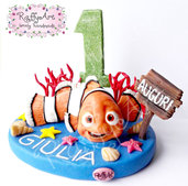 "Cake topper ""Festa in fondo al mare (versione accessoriata)"""