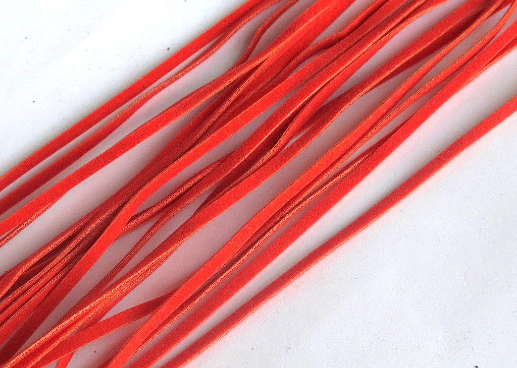 3 Cordini piatti arancione FCO66