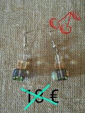 orecchini swarovski cubetti