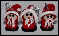 Lotto 5pz Babbo Natale Mini