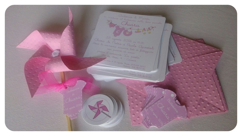 Invito modello origami