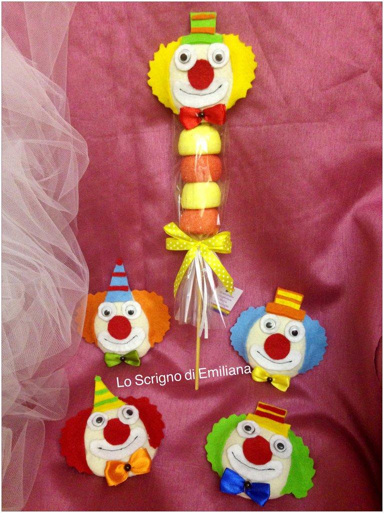 Bomboniera clown Compleanno bambini