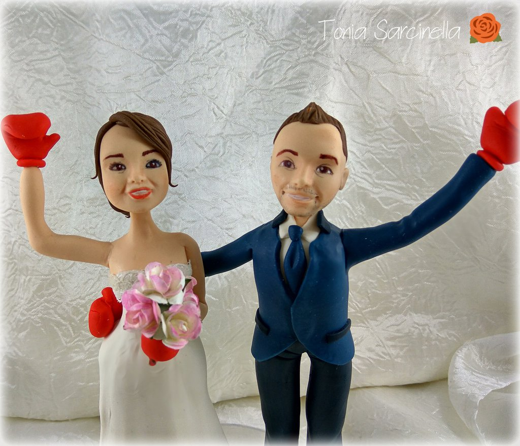 Cake topper sposi personalizzato
