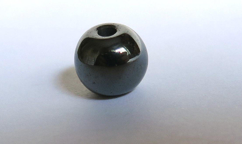 10 Perle HEMATITE 6 mm PRL100
