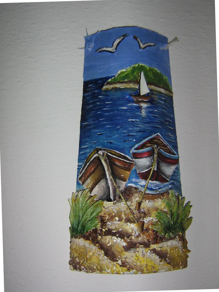 Tegole decoate in rilievo per la casa e per te - Tegole decorate in rilievo ...