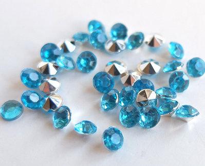 30 Strass azzurro PRL119