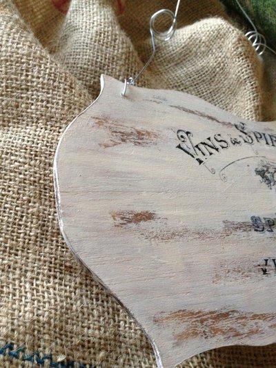 targhe decorative in legno per la casa e per te
