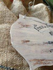 Targhe decorative in legno