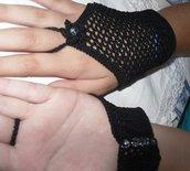 Guanto braccialetto in cotone