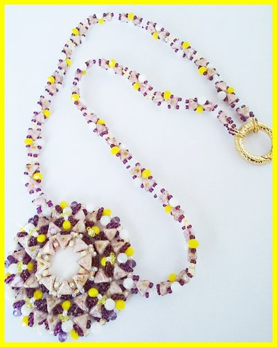 Collier con madreperla