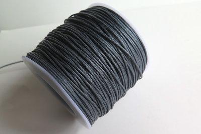 Cordino cerato grigio 1 mm  FCO88