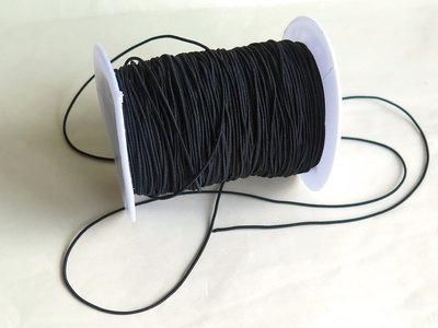 Cordino elastico nero FCO93