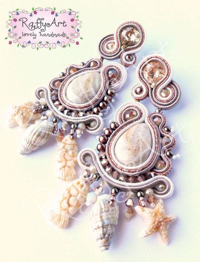 """Orecchini """"Sea Memories"""" (abbinabili alla collana)"""