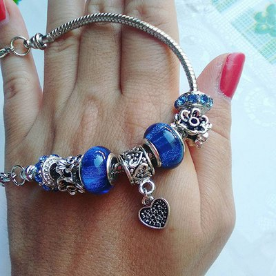Bracciale Charmories Blue
