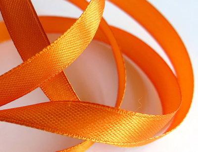 3 m. Nastro raso  Arancione ( 10 mm )  NA4