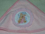 Accappatoio asciugamano per neonato