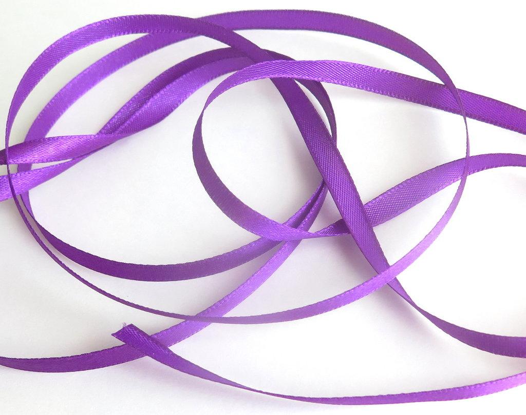 1 m. Nastro raso viola ( 8 mm )  NA8