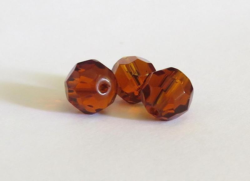 10 Perle sfaccettate 10 mm PRL163