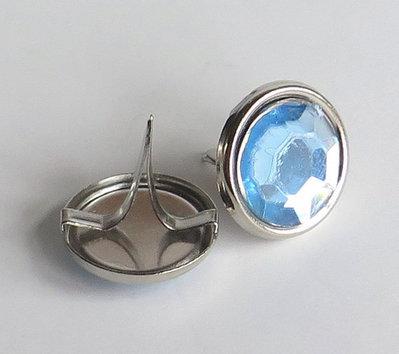 2 Perle PINS azzurro PRL183