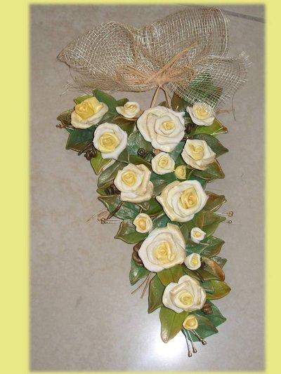 Bouquet di rose Ghirlanda-fuoriporta