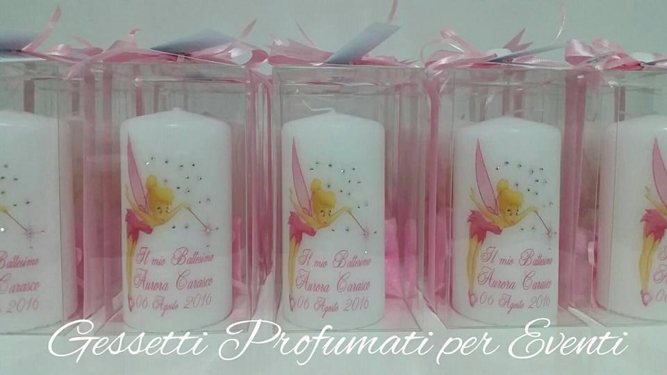 Bomboniera candela personalizzata