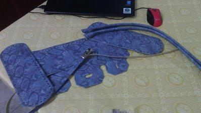 kit birkin per borsa su rete o in fettuccia  colore pitonato