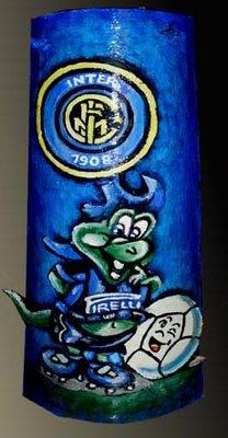 Tegole squadre calcio in rilievo per la casa e per te - Tegole decorate in rilievo ...