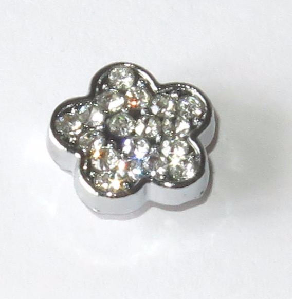 Slide Charms FLOWER STRASS PRL194