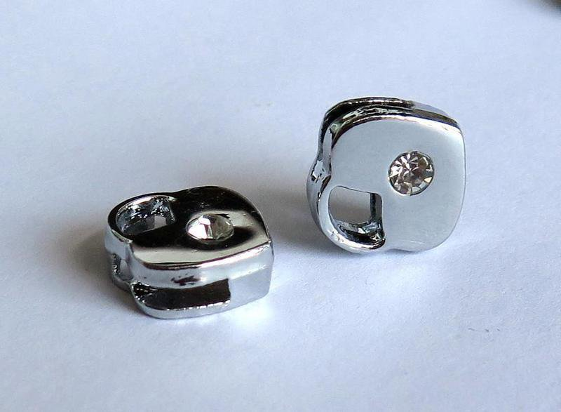 2 Slide Charms LUCCHETTO PRL196