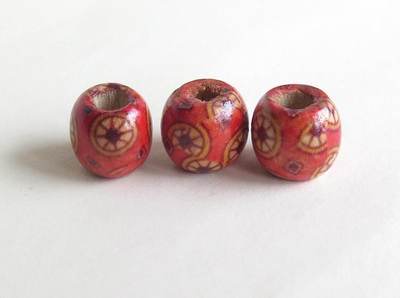 10 Perle di legno FANTASY PRL210