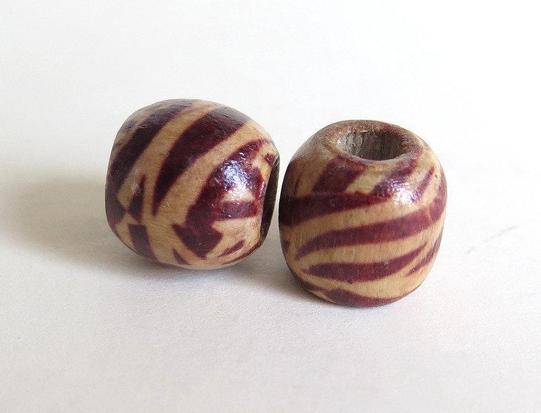 10 Perle di legno FANTASY PRL212