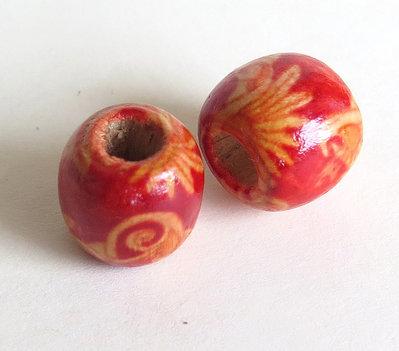 10 Perle di legno FANTASY PRL214
