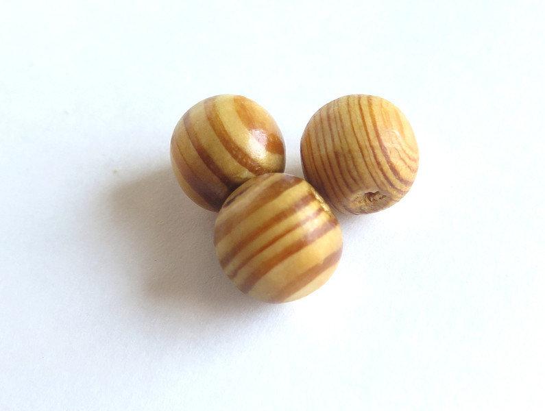 10 perle di legno 12 mm PRL220