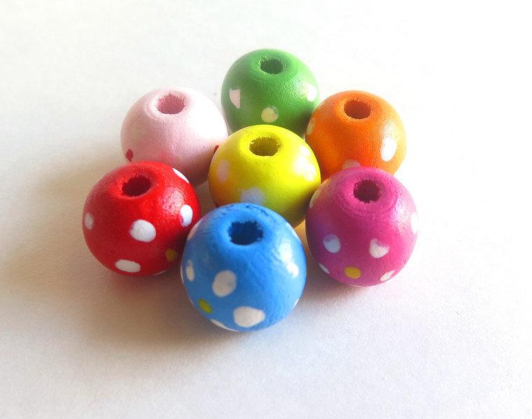 10 Perle di legno POIS PRL224