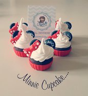 FAKE CUPCAKE MINNIE IN FIMO