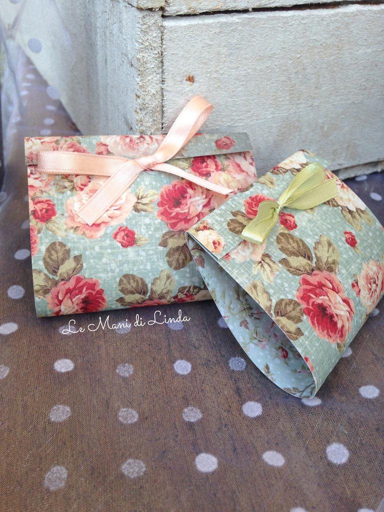 65 Mini bag boho/shabby chic porta coriandoli porta riso - OTTIMO PREZZO STOCK!!