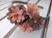 Cerchietto Little Rose Handmade