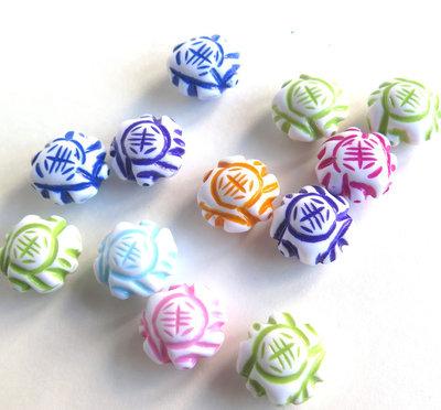 10 Perle ACRILICO TONDO MIX PRL249