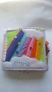 Quiet book fascia età 6-12 mesi