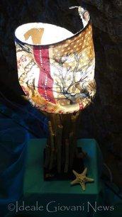 Lampada rami a torretta