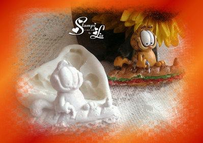 Stampo *Personaggio cartoon Garfield*