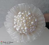 Bouquet perla bianco